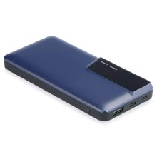 Power Bank mit Display 10000mAh/3,7V blau