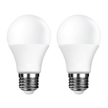 SET 2x LED Glühbirne E27/5W/230V 4000K