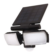 Solight WO772 - LED-Solar-Flutlicht mit Sensor 2000mAh LED/8W/3,7V IP44