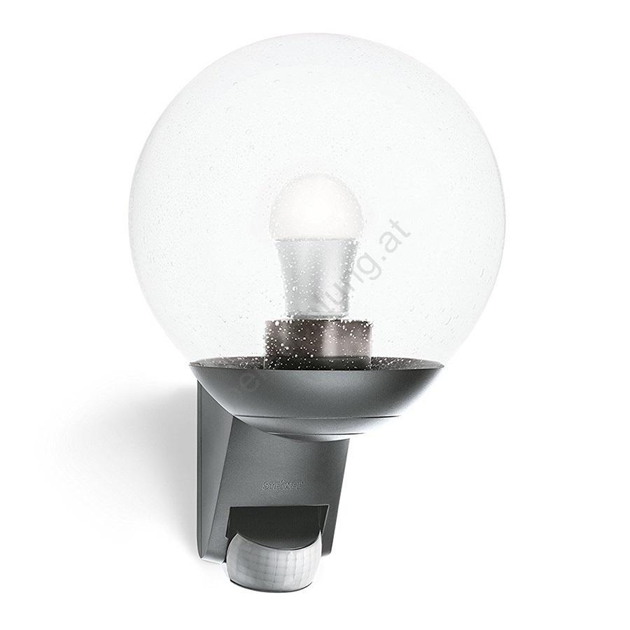 steinel 035723 aussen wandleuchte mit sensor l585s 1xe27 60w 230v beleuchtung. Black Bedroom Furniture Sets. Home Design Ideas