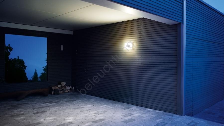 steinel 649715 led aussenleuchte mit d mmerungsschalter ln1led led 4 5w 230v beleuchtung. Black Bedroom Furniture Sets. Home Design Ideas