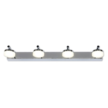 Top Light Hudson - LED-Badezimmer-Wandleuchte 4xLED/5W/230V IP44