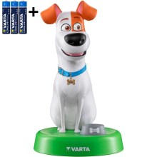 Varta 15641 - LED-Kinderlampe THE SECRET LIFE OF PETS LED/3xAAA