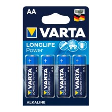 Varta 4906 - 4 St Alkali-Batterien HIGH ENERGY AA 1,5V