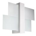 Wandbeleuchtung FENIKS 1 1xE27/60W/230V weiß