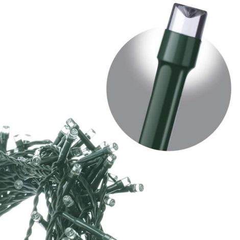 Weihnachtliche Lichterkette CHAIN IP44 10m 100xLED